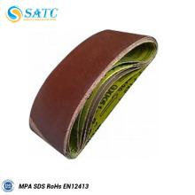 SATC - cinto de lixamento de polimento de vidro / cinto abrasivo bom preço e alta qualidade