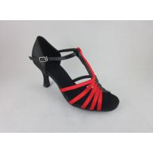 Damskie czerwone buty do tańca