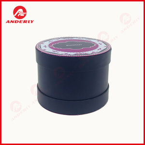 Custom Cylinder Paper Tube For Jewelry Watch Packaging