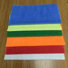 30/30cm Warp Knitting Microfiber Car Cleaning Towel