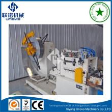 Máquina de formação de rolo de canal ranhurada