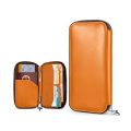 Soft PU Leather Passport Bags Wallets for Men