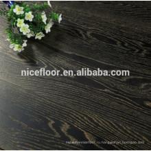 Трехслойный деревянный настил OAK GOLD BLACK DISTRESSED TEXTURE