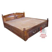 Sheesham Holz Doppelbett