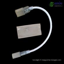 Câble rallongé LED Neon pour une seule couleur ou RVB