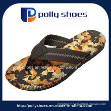 Sandale faite sur commande d'olive EVA d'hommes sandale