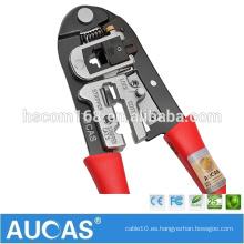 Cable de red herramienta de arranque / alicates de cable / herramienta de prensado para cable de red