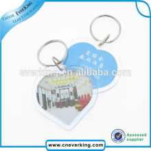 Customized Eco-Friendly Plastic Keychain for Decoration