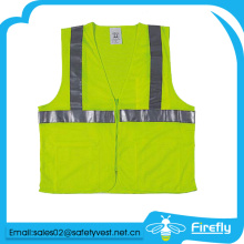 cheap and good quality reflective safety vest with pocket