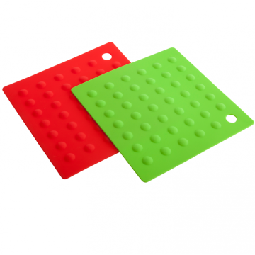 Aprovado pela FDA Silicone Square Pot Holders Kitchen Tools