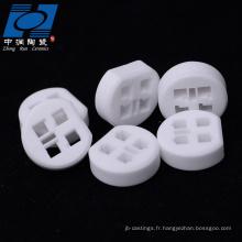 Isolant rond en céramique à 99% d'alumine pour capteur