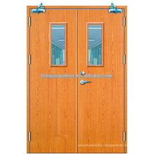 china supplier ul listed fire rated door fire proof door swing door