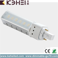 6W G24 LED Tube Light Ra80 Hög Effektivitet
