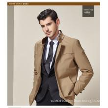 Factory OEM Plus Size European Style Fashion Men Khaki Jackets