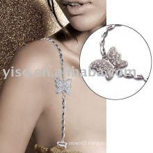 butterfly metal bra strap