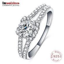 Jóias de casamento 925 anel de prata esterlina para mulher (sri0003-b)