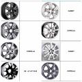 Prix compétitif de haute qualité toyota wheels toyota jantes en alliage pour toyota