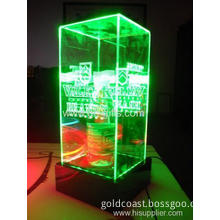 Base Around Led Green Light Product Display Packaging Box