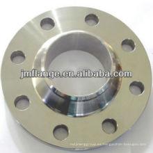 UNI de fundición de cartón de acero brida 304 316L cuello de soldadura