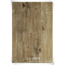 Идеальный тисненый деревянный виниловый настил