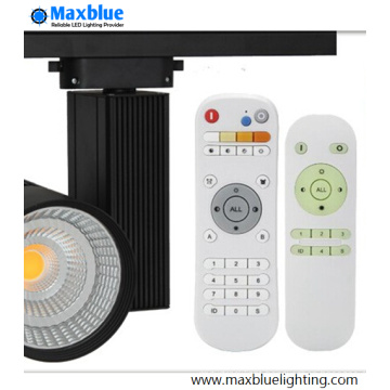 20W 25W Dimmable LED Tracklight with Remote Controller