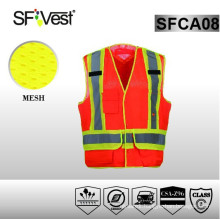 2015 uniforms workwear safety vest with pockets
