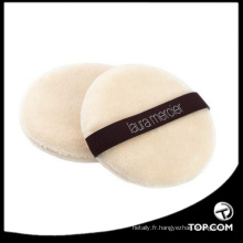 flocage maquillage feuilletée / blanc poudre cosmétique poudre / poudre de fondation