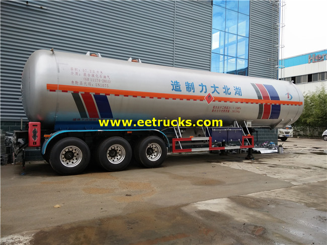 Propane Transport Semi-trailers