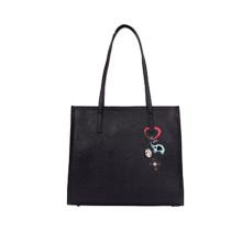 Neue Art und Weisestickerei-Dame-Beutel PU-Tote-Handtasche Wzx1090
