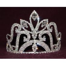 Corona de la tiara del rhinestone