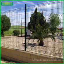 Vedação de malha de arame soldada revestida com epóxi para cerca de jardim