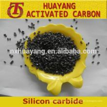 Preço de fabricação de carboneto de silício / SiC preto / verde para material abrasivo