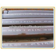 astm a106 gr.b preço do tubo sem fumaça TPCO