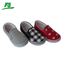 Chaussures de toile de vente chaude enfant