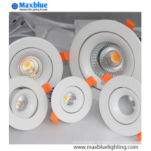 50W RF Remoto Dimmable CREE COB LED Down Luz