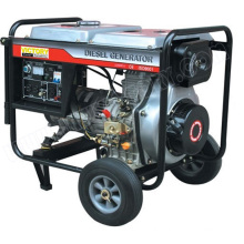 5kVA Small Portable Diesel Generator with CE/CIQ/Soncap/ISO