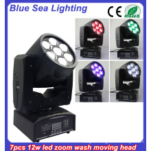 DMX RGBW stage lightings 12w beam moving head light