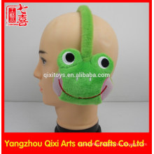 Plush earmuff animal toy frog monkey for children