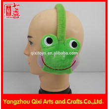 Pelúcia earmuff animal brinquedo macaco sapo para crianças