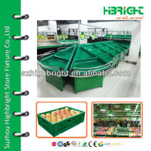 fruit and vegetable display case