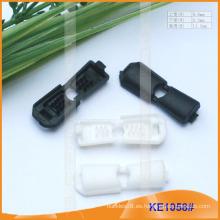 Forme el extremo plástico de la cuerda para las prendas KE1058 #