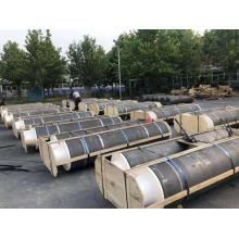 Electrode de graphite UHP 600mm pour four à arc hautes performances
