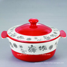 Facotry Made Ceramic Stoneware Tureen