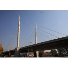 High Quality Industrial Factory for Steel Structure Overpass Bridge,High Strength Overpass Bridge,Pedestrian Steel Structure Overpass Bridge Manufacturers and Suppliers in China single and double lane steel structure overpass bridge supply to Belgium Manu