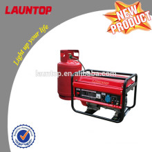 2.0kw Launtop LPG Generator with Air-cooled, 4-stroke engine