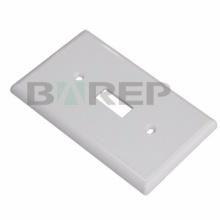 YGC-011 Plaque d'interrupteur d'éclairage LED en plastique américain pour prise de courant