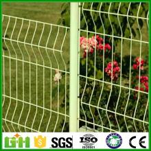 2016 низкая цена 3d сварная складная проволочная сетка забор / садовый забор / ограждение безопасности