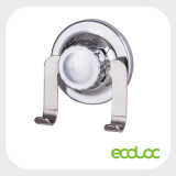 ECOLOC powerful suction cup with stainless steel double hooks