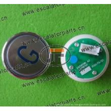 Botón para ascensor Sjec A4N28797 / A4J28796A3