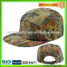2013 impresiones sombreros del snapback 5 panel Shenzhen NC-0002